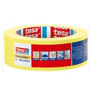 4334 PRECISION MASK HIGH GRADE PAPER MASKING TAPE 50MM X 50M