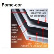 FOME-CORE WHITE 48INX96INX.187IN (PACK OF 25
