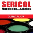 DURACAL UV SCREEN PRINT INK INTENSE HALFTONE BLACK 1-GALLON
